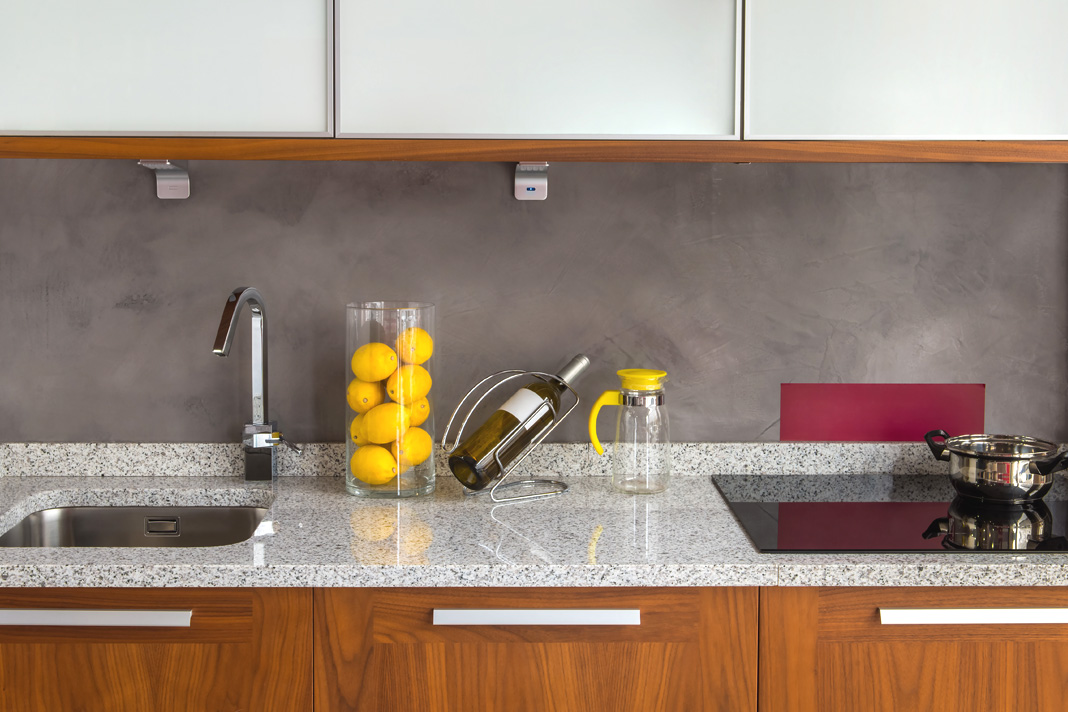 Grey Granite Kitchen Worktop