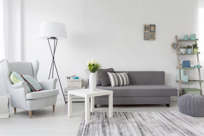 modern design of grey living room ideas