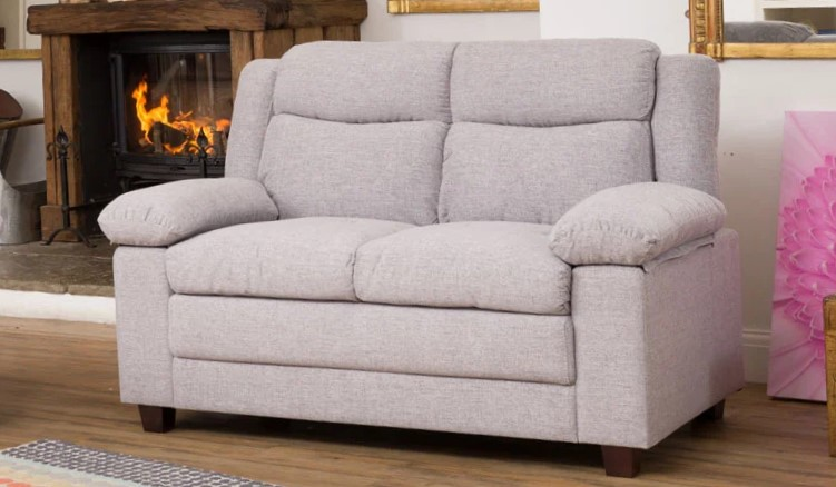 arlington slimline sofa beige colour