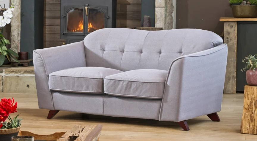 beauchamp slimline sofa light grey