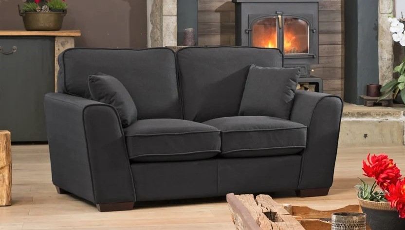 somerset two seater black