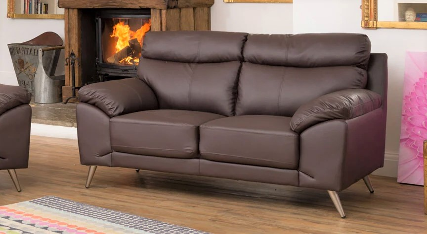 brown westcourt 2 seater sofa