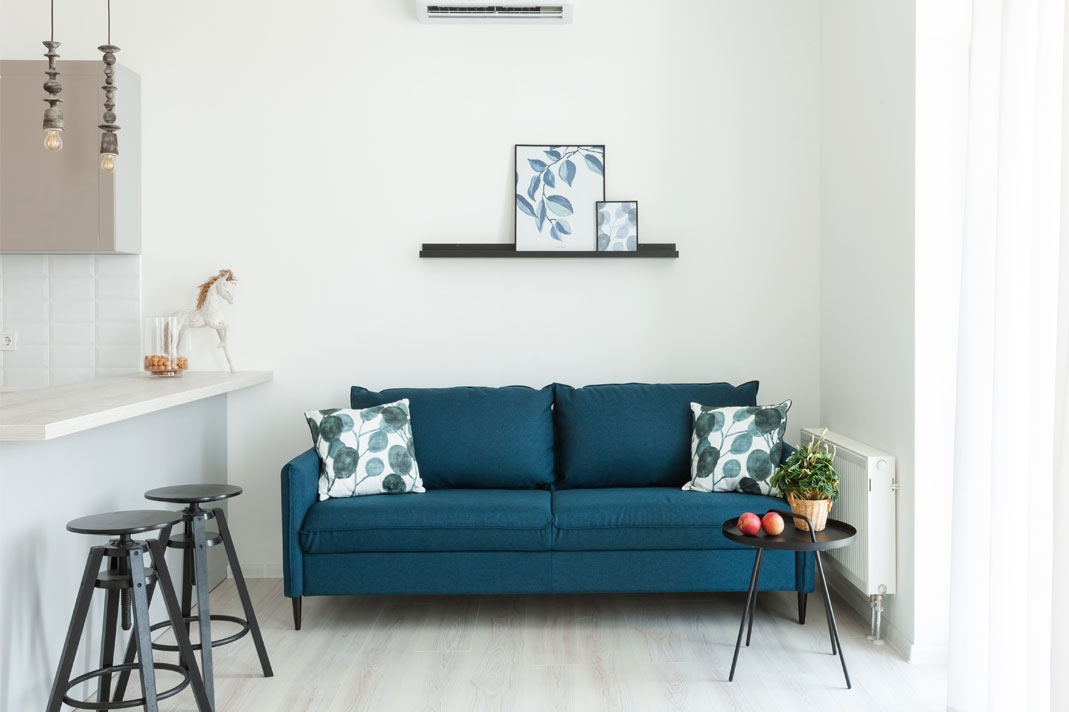 Picture of: 22 Of The Best Slimline Sofas For Small Rooms