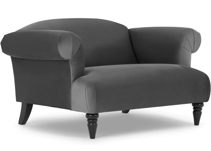 claudia loveseat small sofa